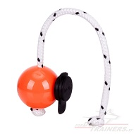 "Palla magnetica Top-Matic ""Fun-Ball"" arancione con clip nera"