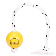 "Palla magnetica ""Fun-Ball"" Mini Soft gialla, 5,8 cm diametro"