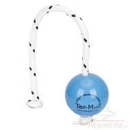 "Palla magnetica Top-Matic ""Fun-Ball"" SOFT blu, 6,8 cm diametro"