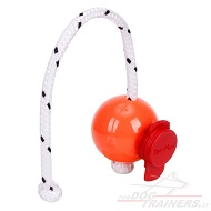 "Palla magnetica Top-Matic ""Fun-Ball"" arancione con clip rossa"